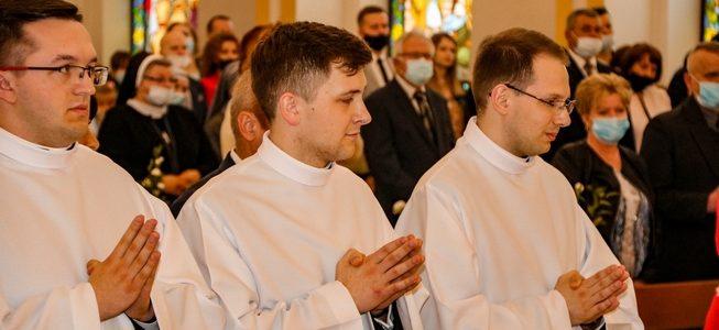 Uroczystość święceń diakonatu – relacja